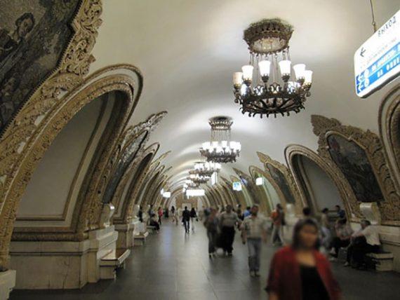 ایستگاههای مترو در روسیه