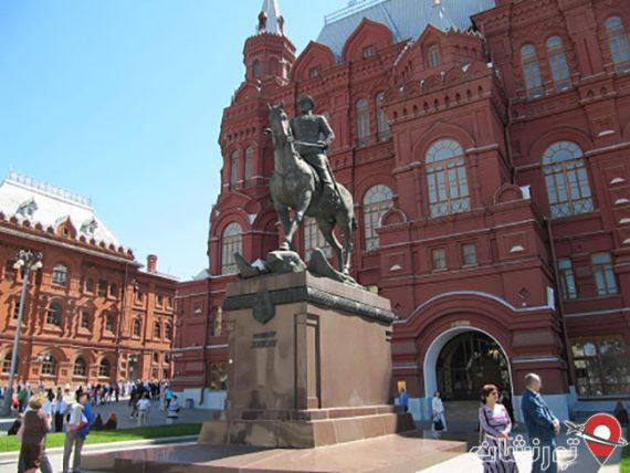 مجسمه مارشال گئورگی