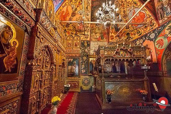 نمای داخلی کلیسای سنت باسیل