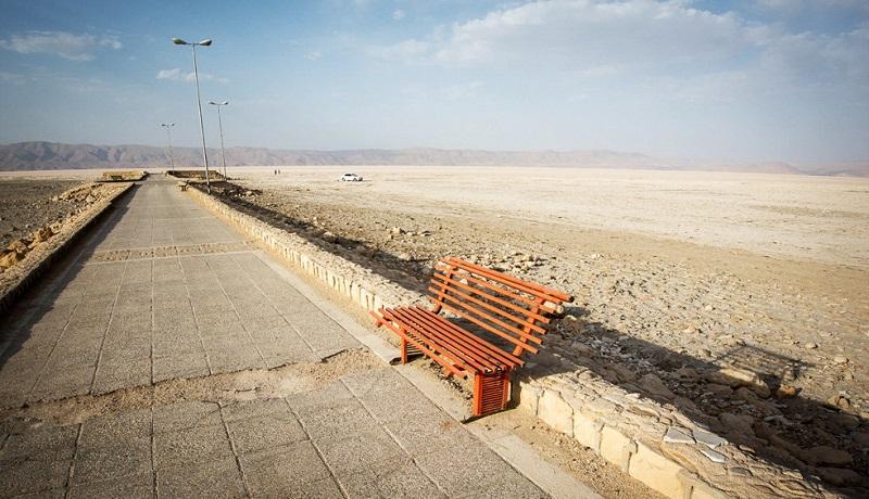 دریاچه مهارلو نمک