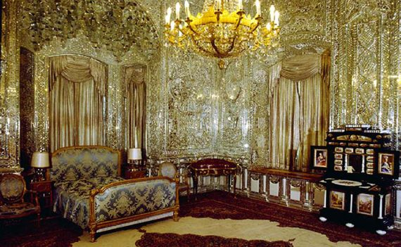 نمای داخلی کاخ سعد آباد