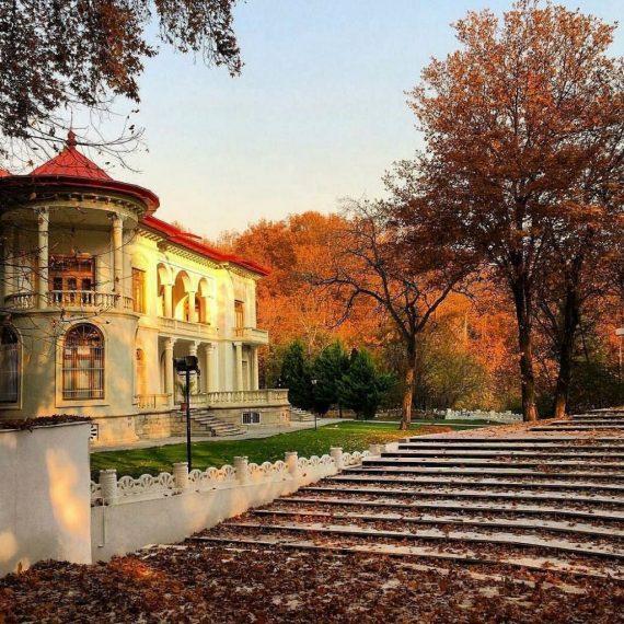 نمای بیرونی کاخ سعد آباد