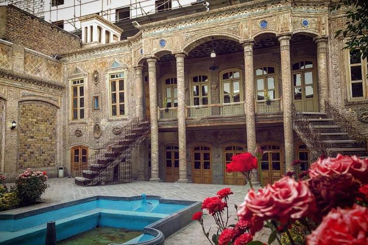 خانه ی تاریخی داروغه در مشهد