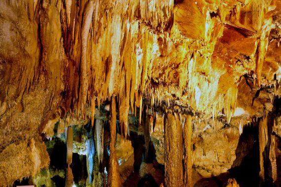 غار شگفت انگیز کتله خور در زنجان + تصاویر