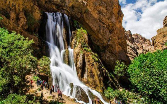 عروس آبشار های ایران ثبت ملی شد!